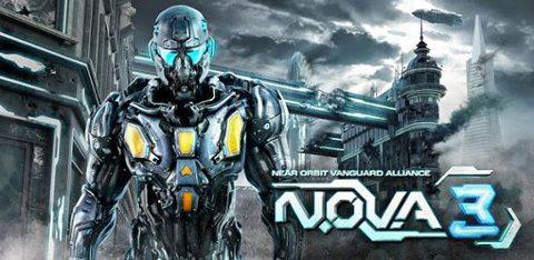 N.O.V.A. 3 de Gameloft ya está disponible para Android
