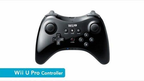 Nintendo Pro Controller, nuevo control inalámbrico para la Wii U