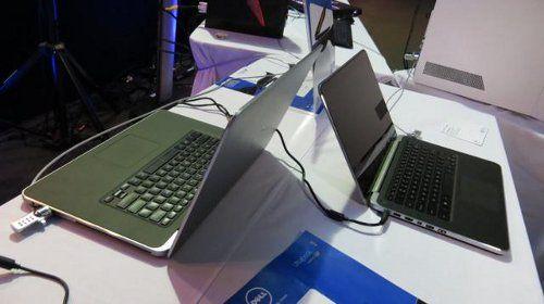 Nueva Dell XPS 15 es vista en un museo de Rumania