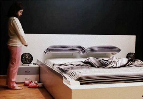 Por fin: la cama que se hace sola