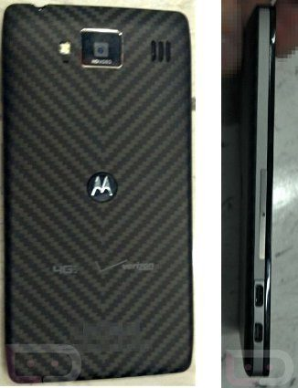 Primeras fotos del Motorola Droid RAZR HD