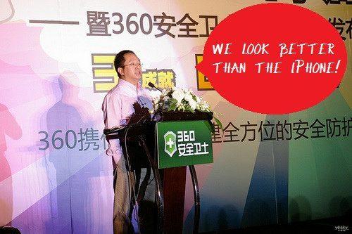 Qihoo AK47 un smarphone chino con pantalla Retina