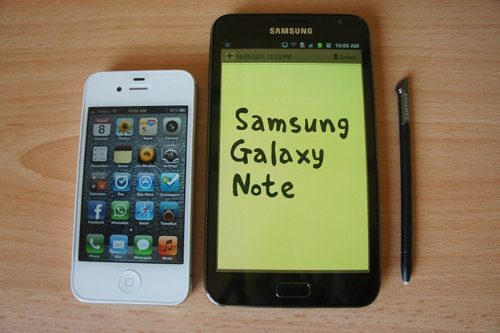 Samsung Galaxy Note II podría contar con una pantalla de 5,5 pulgadas