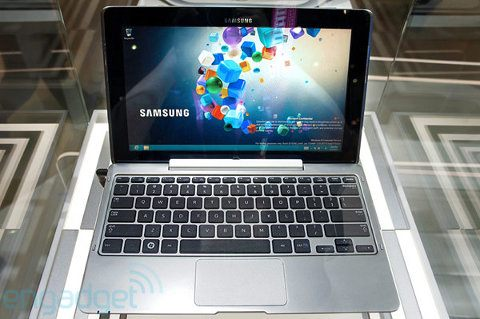 Samsung presenta su propia laptop híbrida