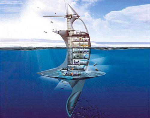 SeaOrbiter, el buque vertical de investigación será construido muy pronto