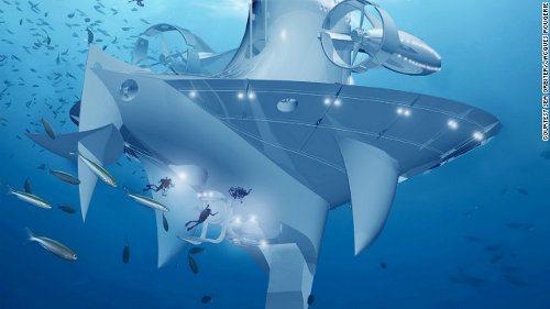 SeaOrbiter, el buque vertical de investigación será construido muy pronto2