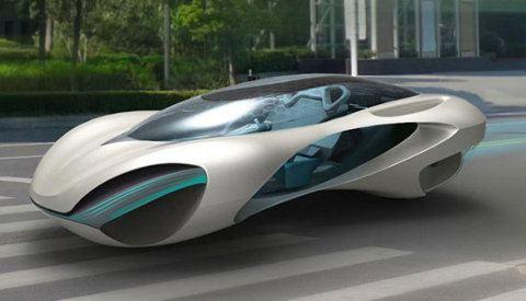 Taihoo 2046, un auto conceptual inspirado en las rocas de los eruditos