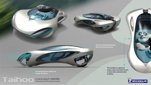 Taihoo 2046, un auto conceptual inspirado en las rocas de los eruditos2