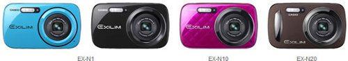 Casio renueva su línea de cámaras Exilim