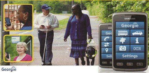 Georgie, genial aplicación Android para ciegos