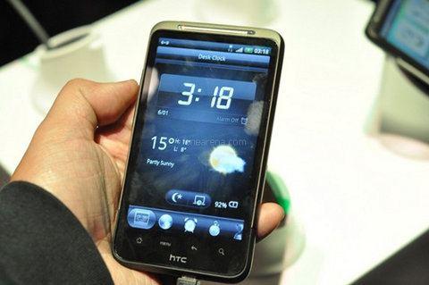 HTC Desire HD no recibirá Android 4.0
