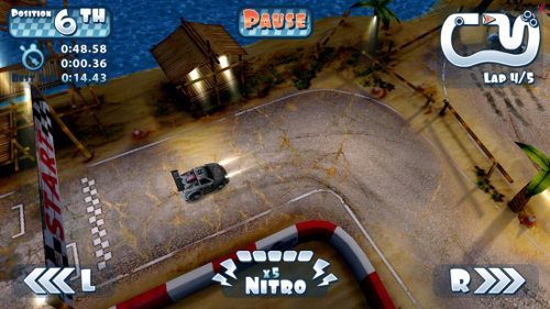 Mini Motor Racing, genial app de carreras