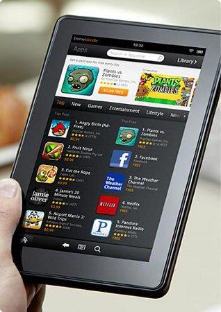 Podría bajar el precio del Kindle Fire