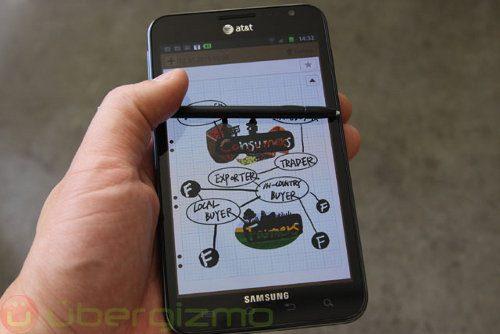 Samsung podría presenta el Galaxy Note 2 a fines de agosto