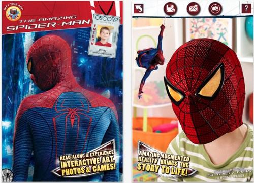 Spider-Man AR Book para iOS