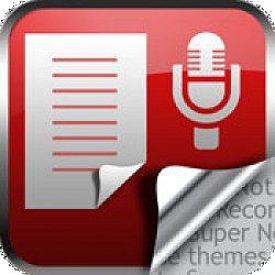 Super Note la aplicación definitiva para crear notas y hacer grabaciones