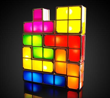 Tetris Light, una genial lámpara para nuestra habitación