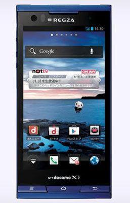 Toshiba Regza T-02D, nuevo smartphone Android 4.0