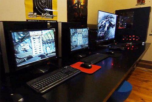 Una habitación gamer con un valor de 30.000 dólares