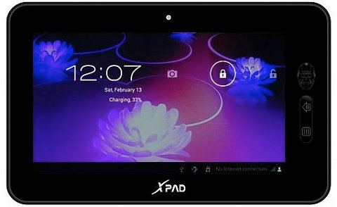 XPad, el tablet Android más barato del mundo