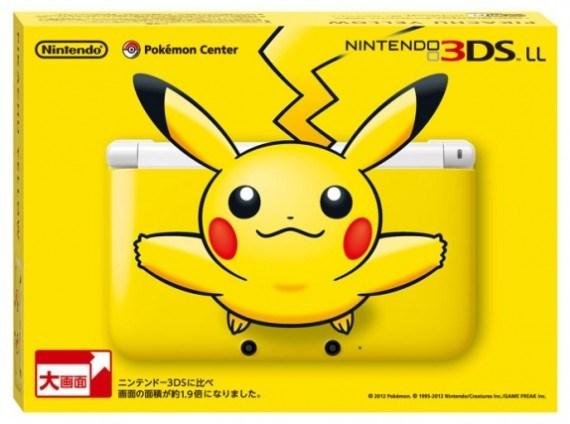 3DS con diseño de Pikachu se vende como pan caliente