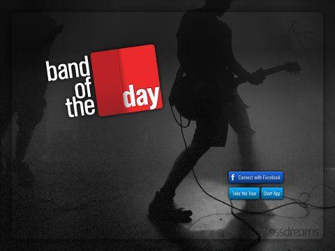 Band of the Day, app que te da detalles sobre una banda todos los días