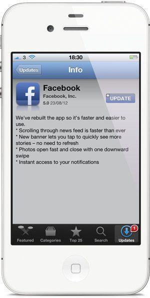 Facebook actualiza su app para iOS y trae la velocidad que todos esperábamos