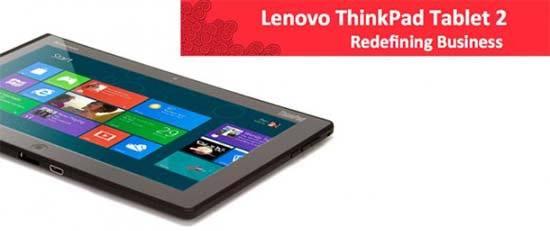 Filtrados algunos detalles del nuevo tablet Lenovo ThinkPad 2