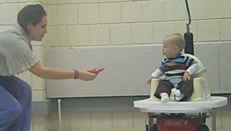 Incluso los bebés cuentan con sus propios robots