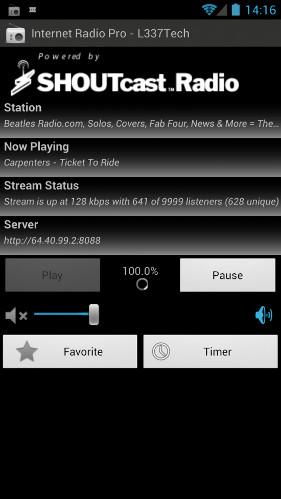 Internet Radio Pro – L33Tech, app Android para escuchar radio online