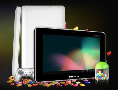 Karbonn Mobiles lanzará pronto un tablet Android 4.1 de bajo precio