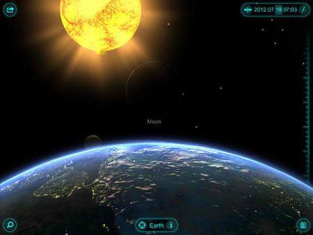 Mira el sistema solar con Solar Walk 2.0