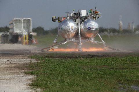 NASA hace una demostración de Morpheus, su nuevo sistema de aterrizaje