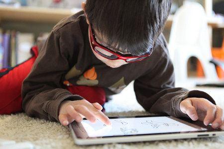 Popularidad de los tablets crece entre los niños