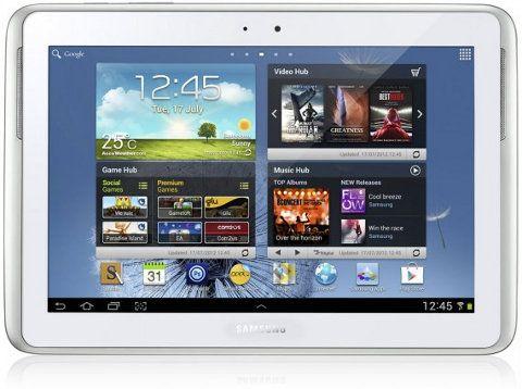 Samsung Galaxy Note 10.1 presentado oficialmente