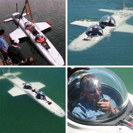 Super Falcon, el submarino que volará bajo el agua