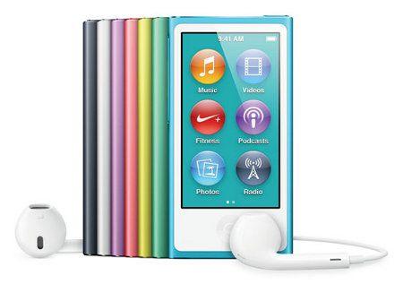 Apple presenta nuevo iPod nano y nuevo iPod touch