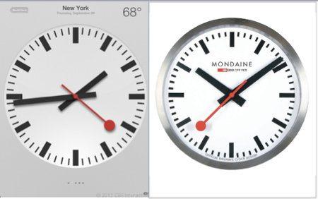 Apple tiene problemas debido al diseño de su nuevo reloj en iOS 6