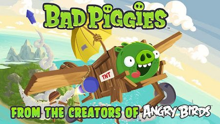 Bad Piggies disponible para iOS, Android y PC
