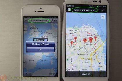 Eric Schmidt Google Maps para iOS 6 ni siquiera está en desarrollo