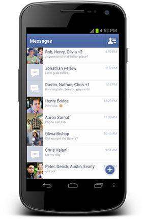 Facebook actualiza su app para iOS y Android