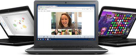 Google lanza servicio de alquiler de Chromebooks