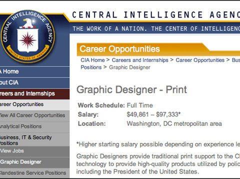 La CIA busca un agente con excelentes habilidades en Photoshop
