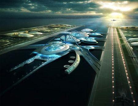 Londres podría tener un aeropuerto flotante en el futuro
