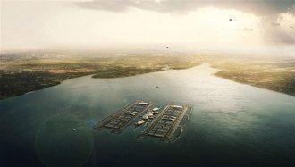Londres podría tener un aeropuerto flotante en el futuro2