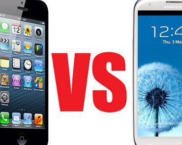 Prueba de caídas iPhone 5 vs Galaxy S3