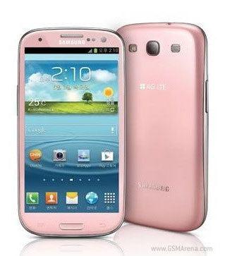 Samsung Galaxy S3 será lanzado en color rosado