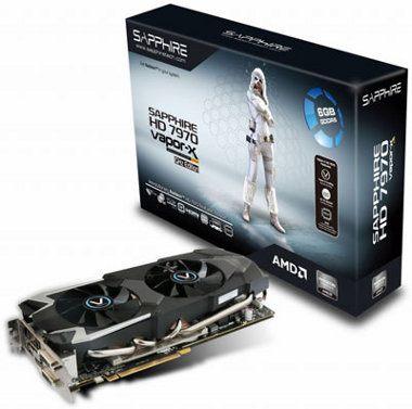Sapphire VAPOR-X HD7970 GHZ EDITION, una poderosa tarjeta gráfica de gama alta