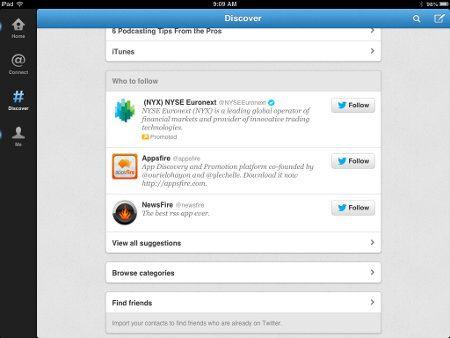 Twitter 5.0 para iOS