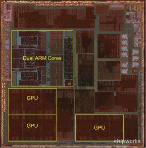 Un vistazo a la arquitectura A6 de Apple diseño único, 3 GPUs y fabricada por Samsung
